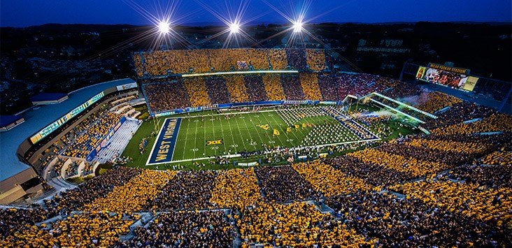 (PHOTO: WVU Sports Communications)