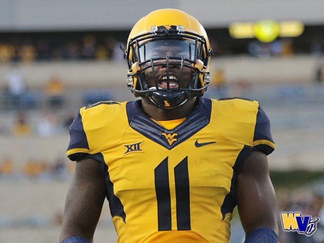 WVU redshirt freshman David Long makes his first career start against Kansas State. (PHOTO: Scott Lituchy)