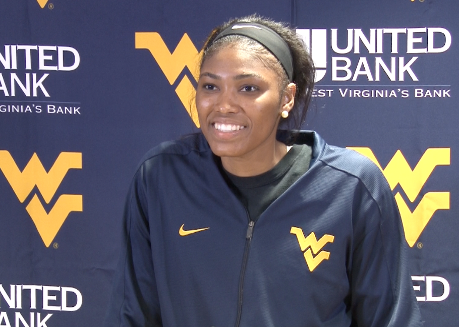 WVU center Lanay Montgomery becomes the sixth Mountaineer to be selected in the WNBA Draft.
