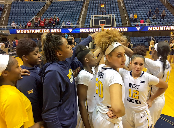 The WVU women's basketball team is heading to College Park, Maryland, for the first round of the NCAA Tournament.