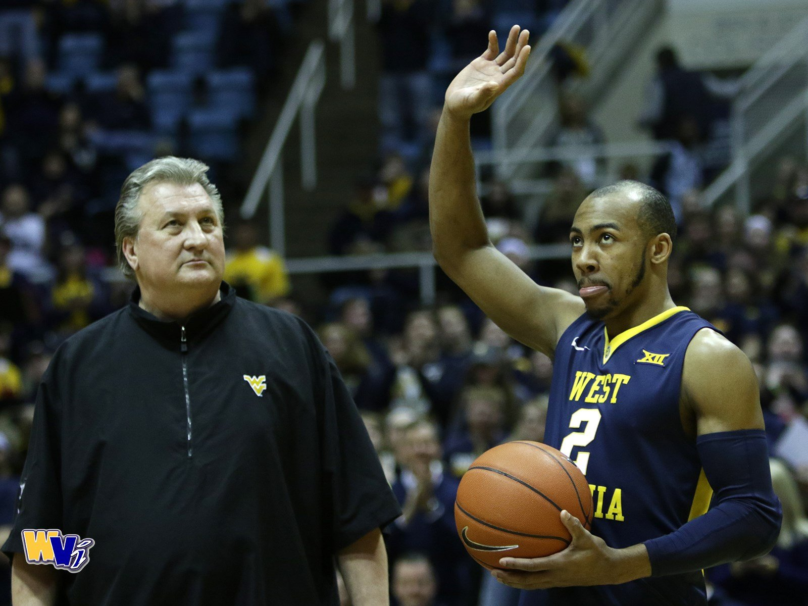 Jevon Carter has been recognized as the Big 12 Defensive Player of the Year.