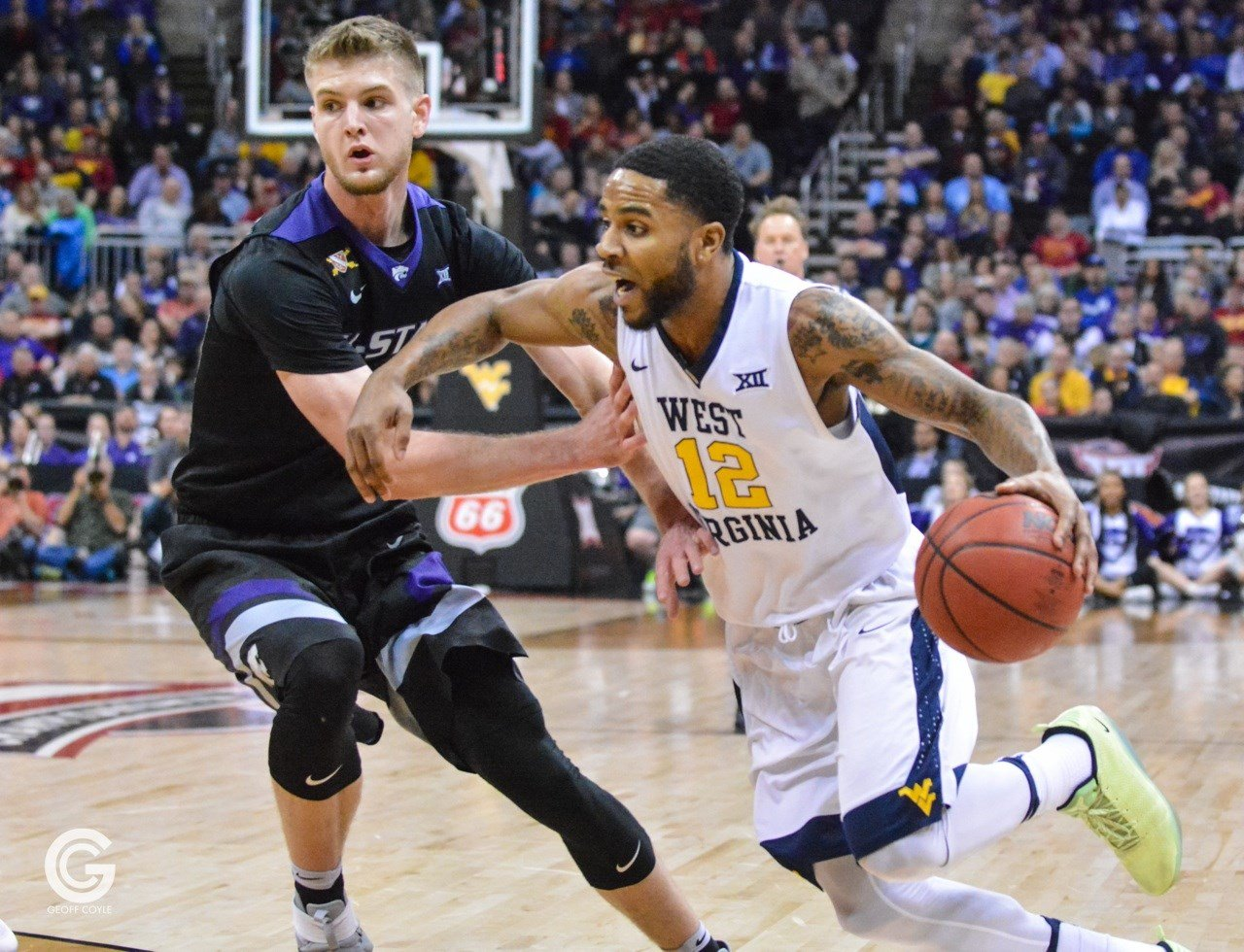 Tarik Phillip scored 13 points in the second half as WVU edged Kansas State 51-50.