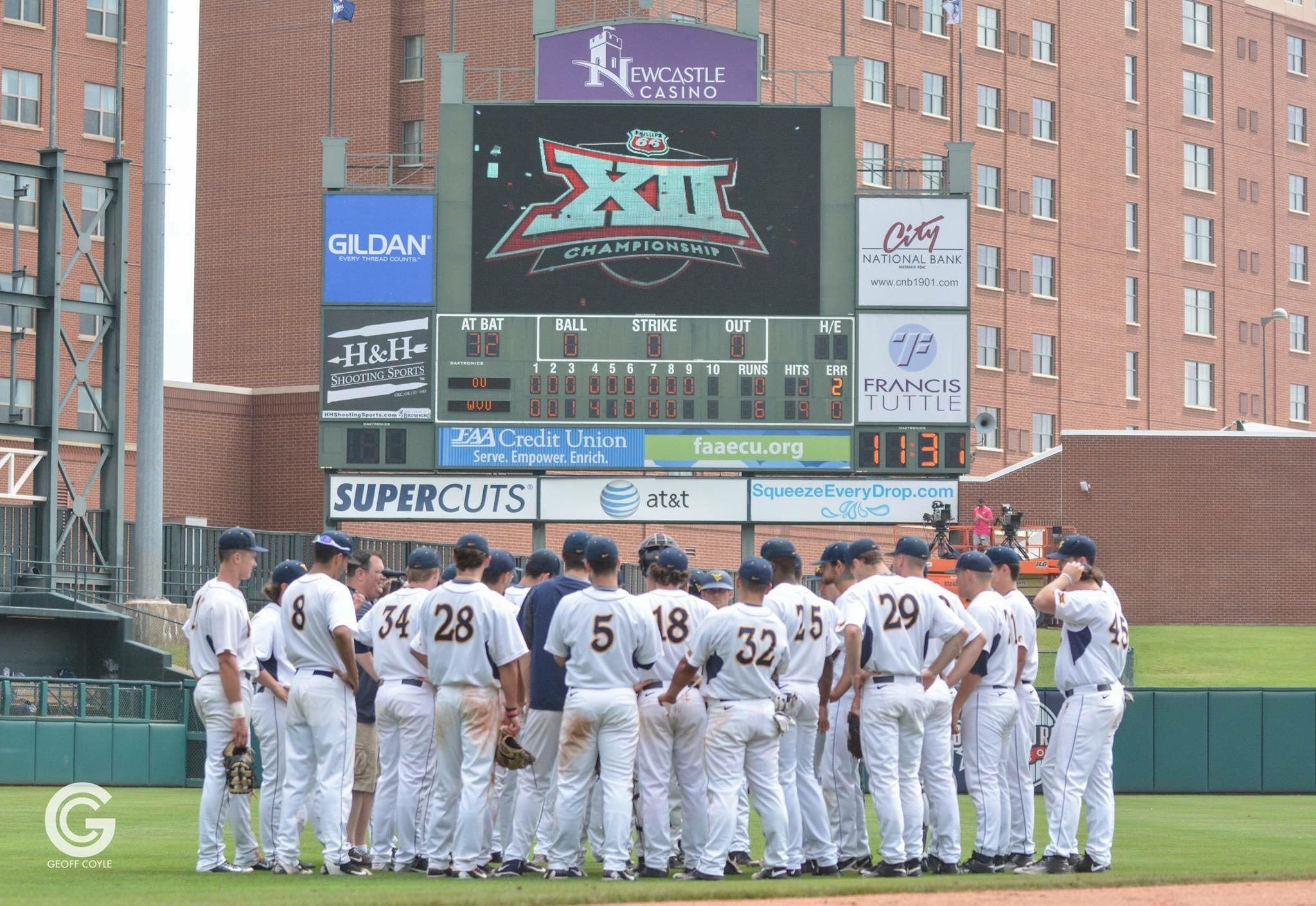 For the first time in program history, the West Virginia University baseball team is the Baseball America Top 25, checking in at No. 21. (PHOTO: Geoff Coyle)