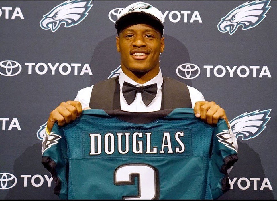 The Philadelphia Eagles picked Rasul Douglas with the No. 99 selection of the 2017 NFL Draft.