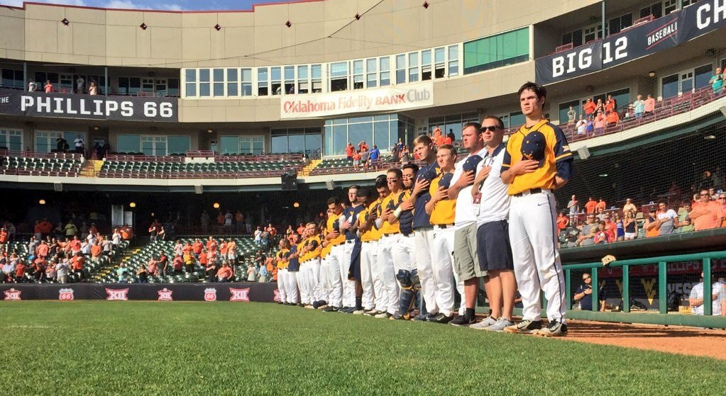 No. 4-seed WVU falls to No. 8-seed Oklahoma St. in extras in the Big 12 semifinal. (PHOTO: Anjelica Trinone)