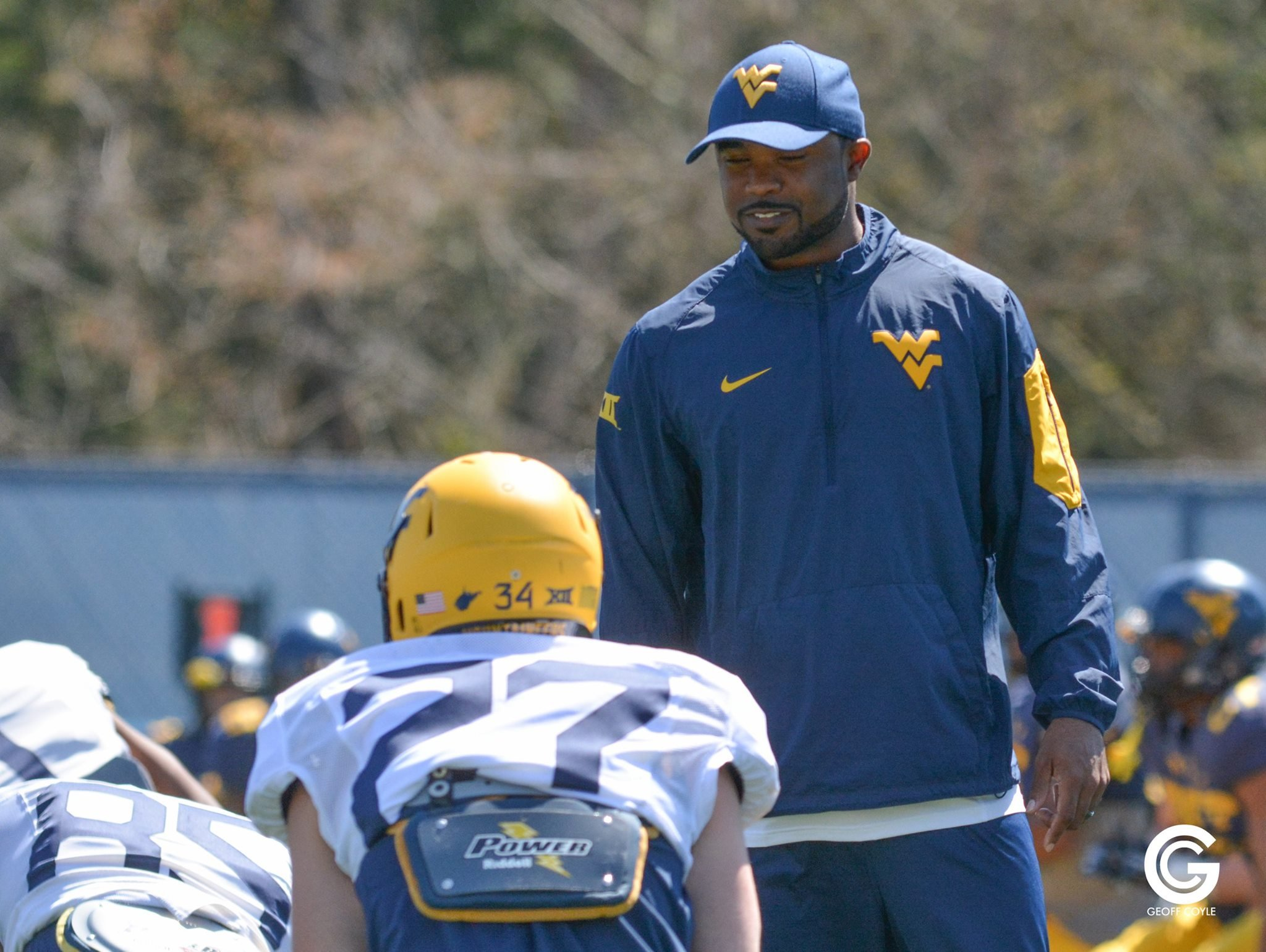Tyron Carrier and the Mountaineers prepare for the season opener. (PHOTO: Geoff Coyle)