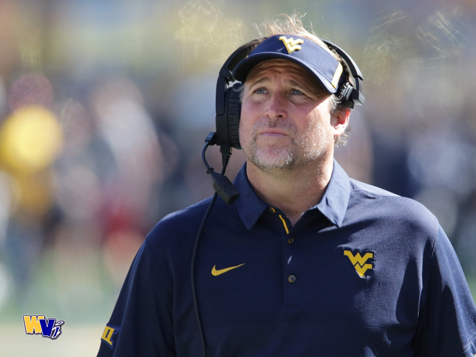 Dana Holgorsen and the Mountaineers will host No. 10 Oklahoma State at noon on Oct. 28. (PHOTO: Scott Lituchy)