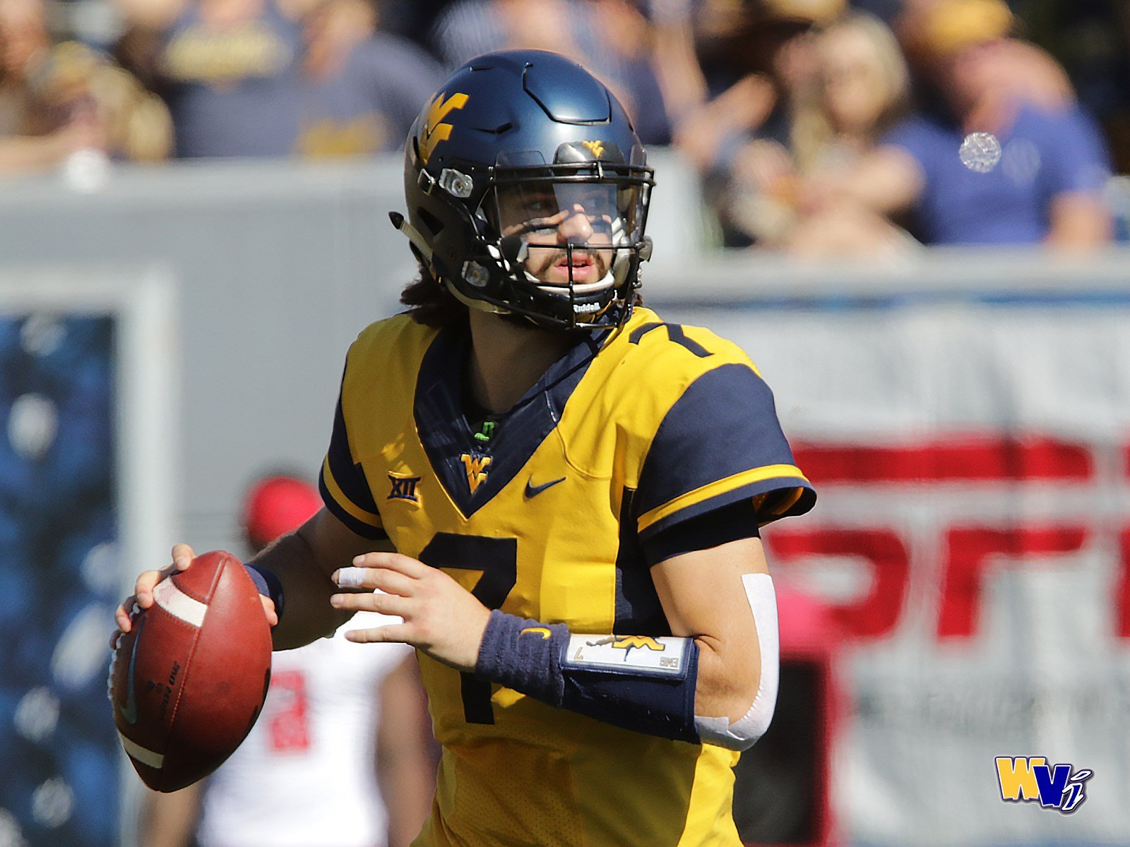 Will Grier leads the nation with 21 touchdown passes through six games for WVU this season. (PHOTO: Scott Lituchy)
