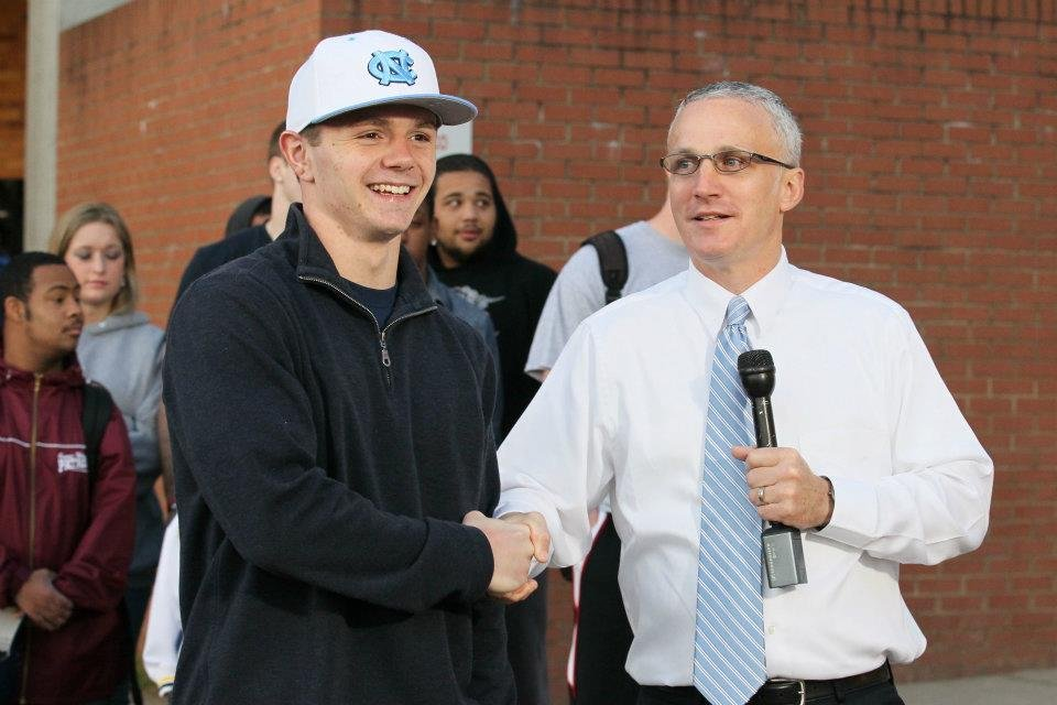 Ryan Switzer announced this morning that he will attend UNC (courtesy of Michael Switzer)
