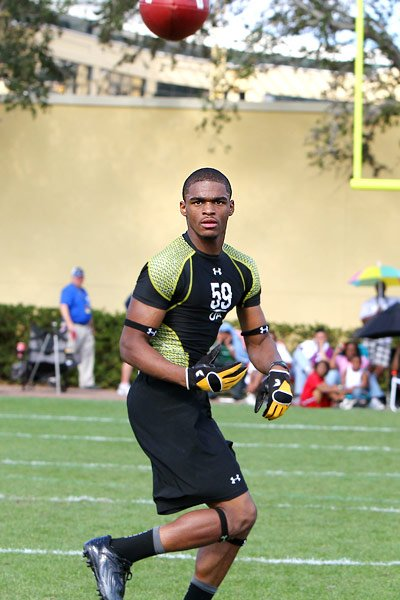 U.S. Army All-American wide receiver Shelton Gibson currently has WVU as one of his top schools.