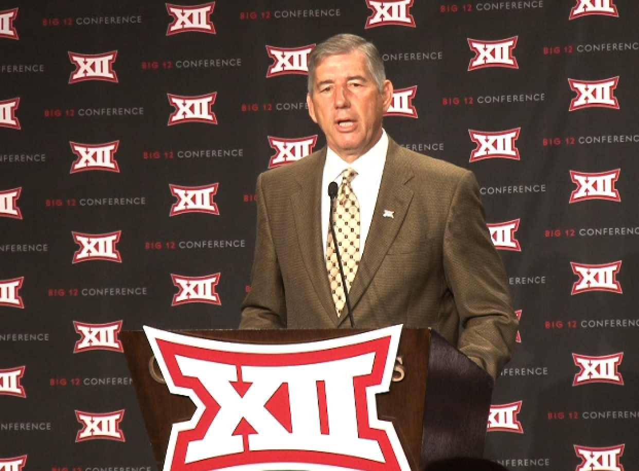 Big 12 Commissioner Bob Bowlsby discussed the state of the NCAA during July's Media Days.