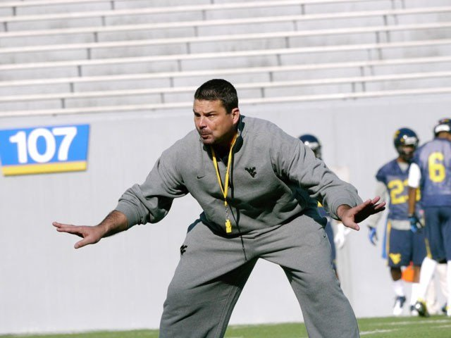 WVU co-defensive coordinator Joe DeForest looking for competition in spring.