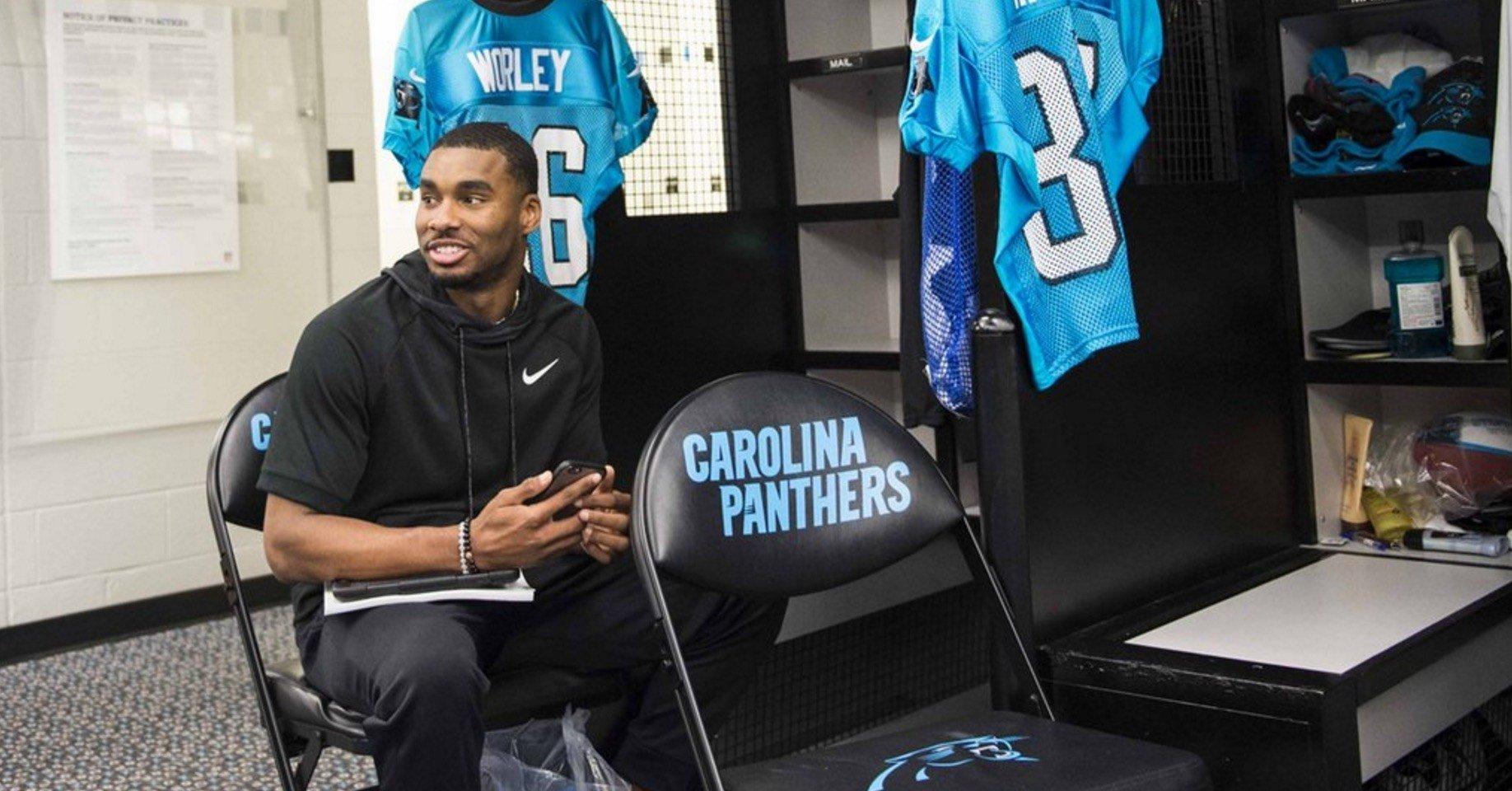 cheap Carolina Panthers Jared Barber Jerseys