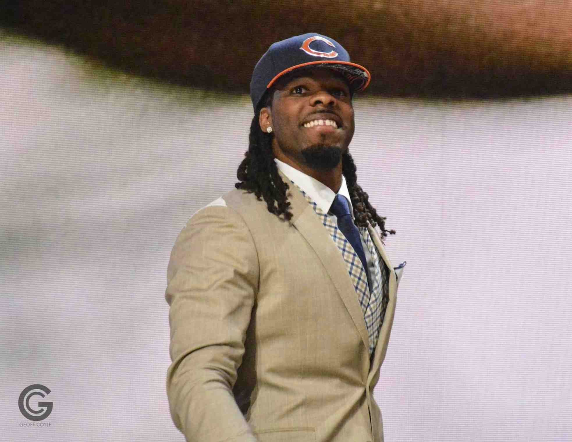 Kevin white agrees to 4 year deal with chicago worth 15 million wvu